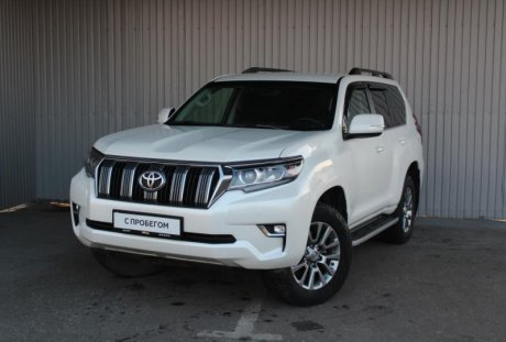 Toyota Land Cruiser Prado 2017 года с пробегом 99 400 км